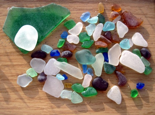 Exciting Sea Glass Colors