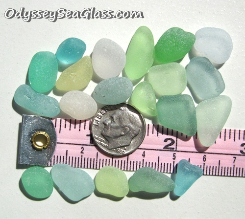 Rare sea glass for sale