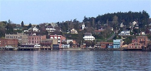 Port Townsend from the Ferry