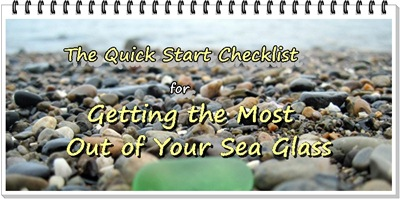 Quick Start Tips for sea glass
