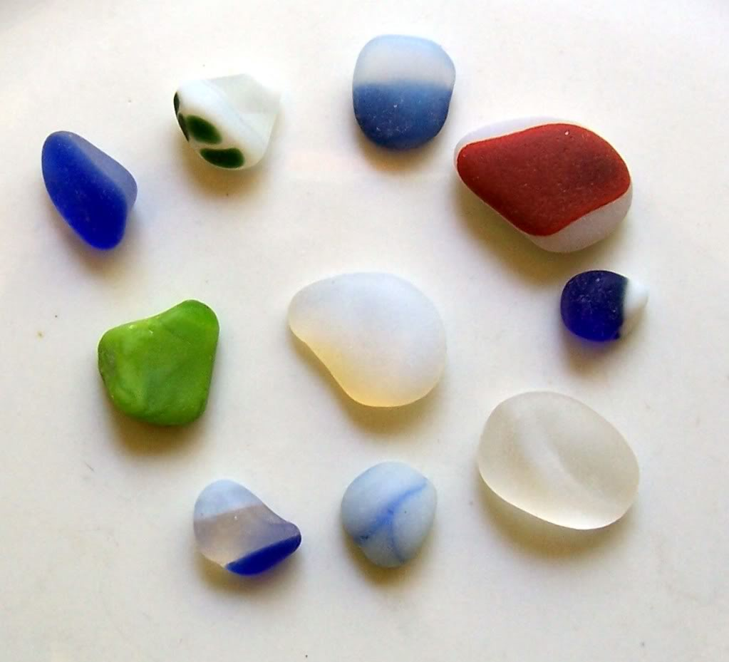 Sea Glass - Finding, collecting, sorting