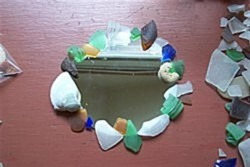 Sea Glass Mirror