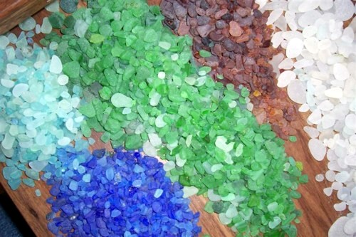 Separating the Sea Glass