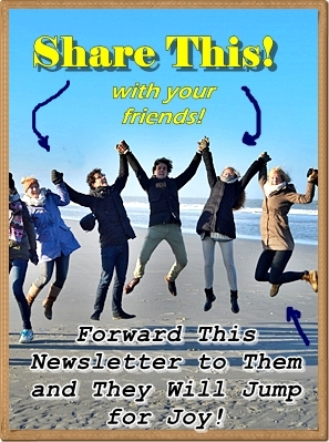 Share forward this newsletter your friends with jump for joy