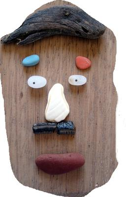 Face It Driftwood Sea Glass and Beach Ceramics