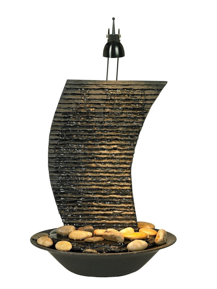 Water Ripple Lighted Table Fountain