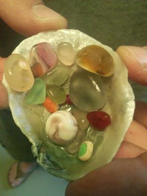 Adie's Sea Glass Marbles