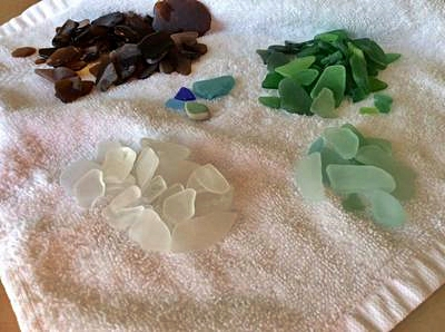 Crystal Cove State Park Beach -  Beach - Sea Glass Report