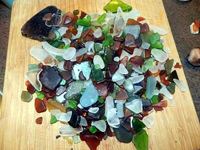 Botanical Beach, Port Renfrew, BC Sea Glass