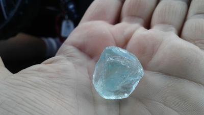 Aqua Blue Nugget