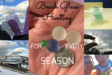 Beach Glass Hunting For Every Season