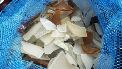 Can these glass shards be called sea glass?