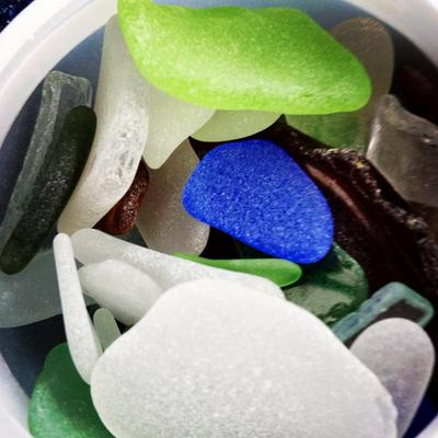 Beach Glass (Bay Head, NJ)