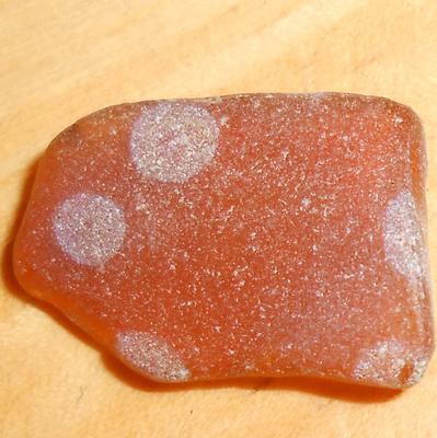 Does anyone know what this spotted sea glass was?