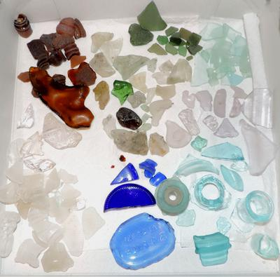 Beach Glass Hooper's Island, MD - these are just my favorite pieces.