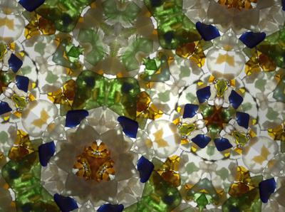 Beach Glass Kaleidoscope
