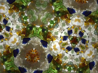 Beach Glass Kaleidoscope
