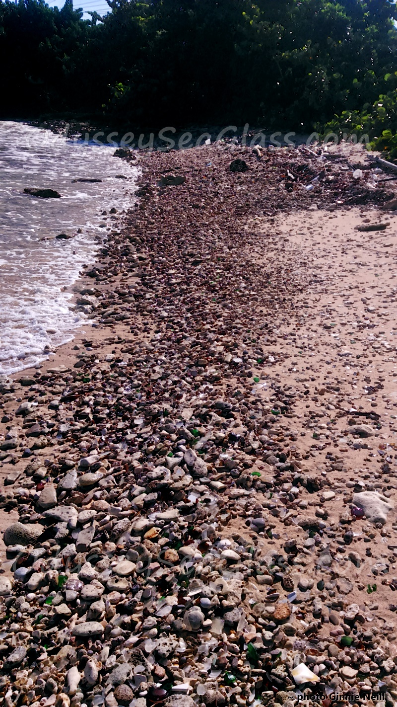 West Jamaica Glass Beach - Sea Glass