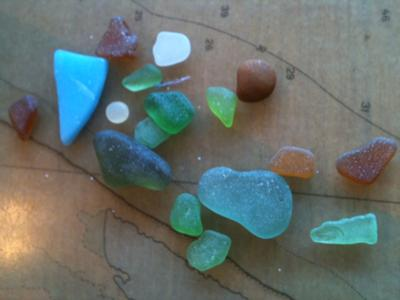 Beginner's Luck - Sea Glass