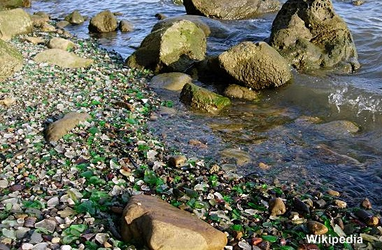 Glass Beach Benicia California