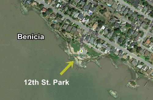 12th St Park Benicia Sea Glass