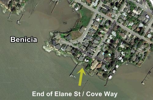 Elane Way Glass Beach, Benicia, California