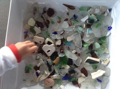 Lots of sea glass