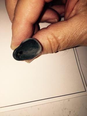 Wide end - Black Clay Beach Object?