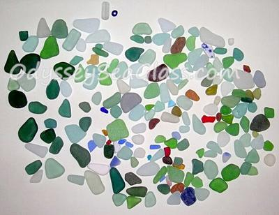 Sea Glass from the Black Sea, Ukraine