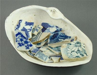 Blue & White Transferware Dishes
