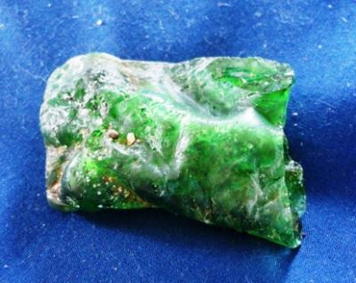 Green Bonfire Bottle Neck Glass