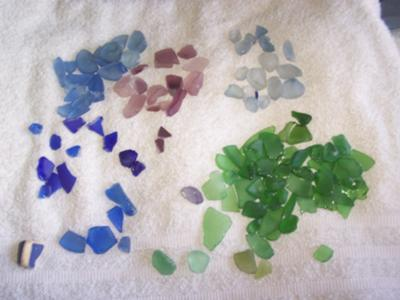 Bonnie's Ocean Glass  - May 2012 Sea Glass Photo Contest