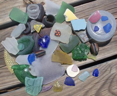 High Island, Texas Sea Glass