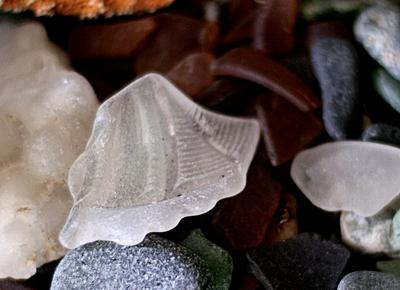 Caspar Beach Sea Glass