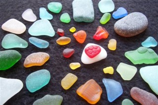 Jadite Cleveland sea glass contest