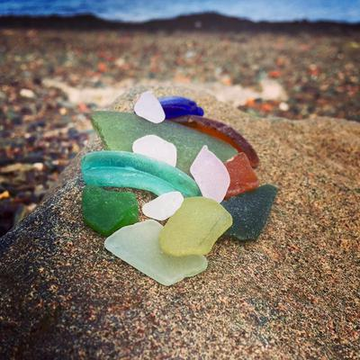 Colors of the Ocean Sea Glass Photo Contest