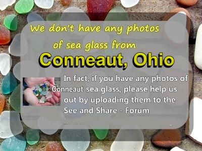 Please send in photos of Conneaut beach glass