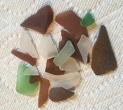 Sea Glass - Alabama Sea Glass Dauphin Island