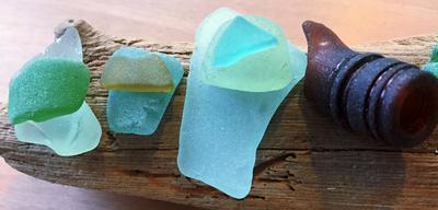 Humber, UK sea glass