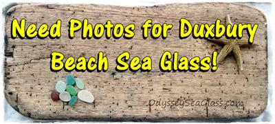 Duxbury Beach Sea Glass?