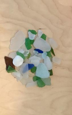 Edgewater Park Beach Glass - Ohio