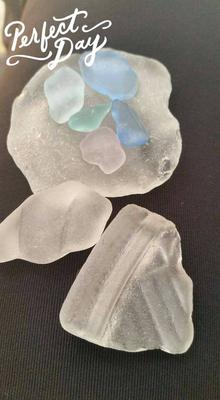 Santa Barbara County CA Beach Glass Reports