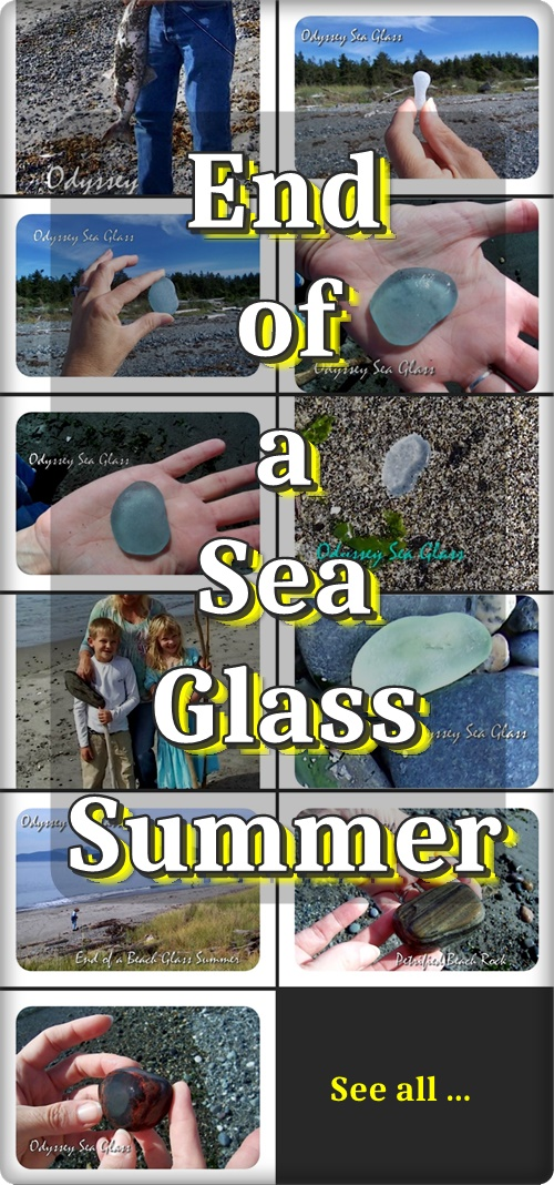 summer beach sea glass