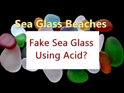 Fake Sea Glass Method?
