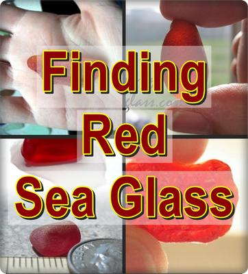 Finding Red Sea Glass?