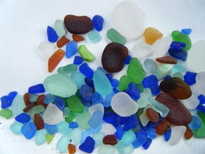 Sea Glass North Beach Port Townsend Washington