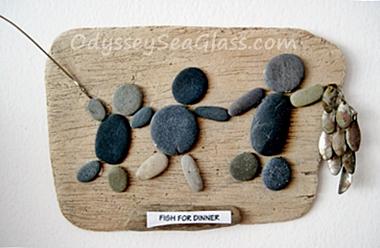 Easy DIY Beach Finds - Sea  Glass, Driftwood, rocks, etc