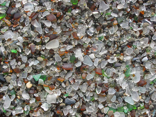 Sea Glass Fort Bragg Dump