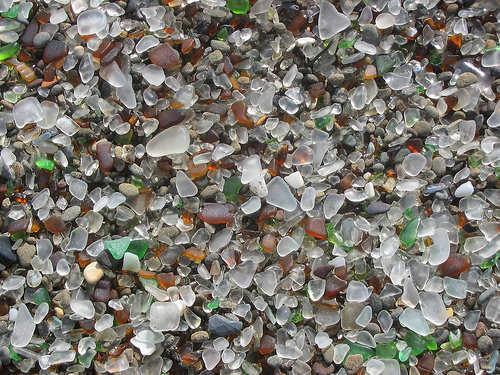 Sea Glass Fort Bragg Dump
