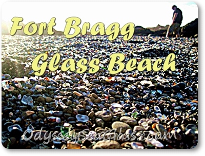 Fort Bragg Glass Beach dump site